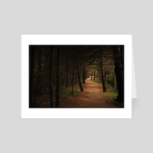 One Wrong Turn  - Art Card by William Tyler