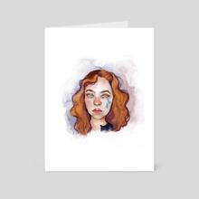 crybaby - Art Card by Veronika Gorbatenko