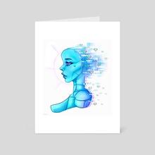 Love Robot - Art Card by Allison Gaughan