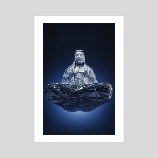 FLYING BUDDHA by Gigi Gvalia