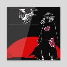 AKATSUKI DEATH SQUAD #1 - Acrylic by Tony Kei