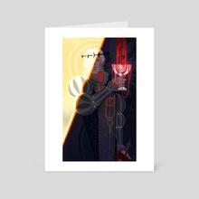 Astarion- Baldur's Gate 3 - Art Card by Lilit Beglarian