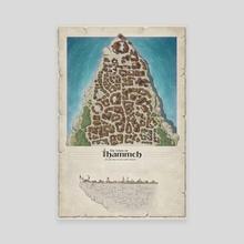 Town of Thammeh - Canvas by Rafał Zatwarnicki