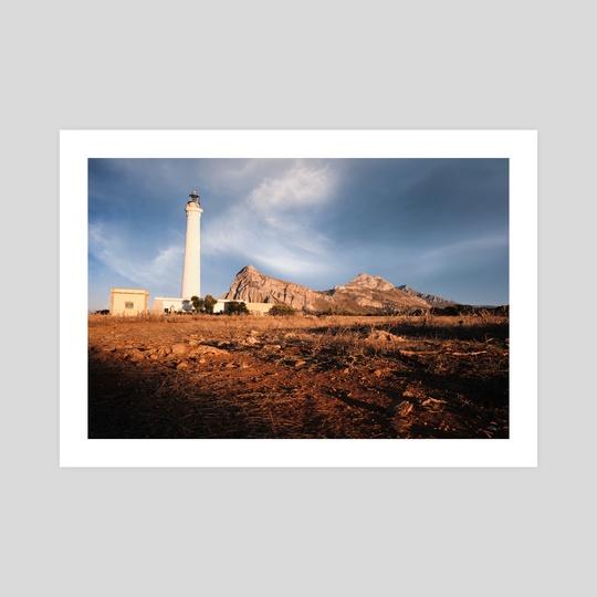 The lighthouse- SICILIA by fabio farenga