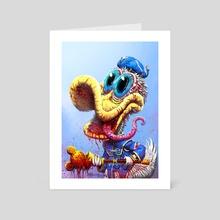 DONALD - Art Card by Austen Mengler