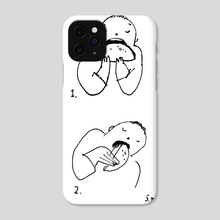 Some Ways To Eat a Taco - Phone Case by Shannon McNeill