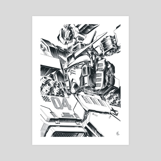 Gundam Thunderbolt by Chris