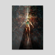 Elama - Acrylic by Kip Ayers