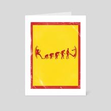 Evolution  - Art Card by Kode Subject