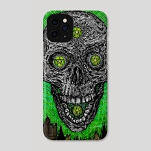 Four of Coins - Phone Case by Holden Haley