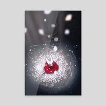 Hornet Awaits - Acrylic by jqvarr