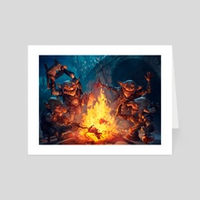 Goblin Gathering - Art Card by Svetlin Velinov
