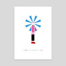 I'AM A SWEET BOY - Canvas by JOJO U