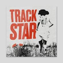 Track Star - Acrylic by Spenceless Designz