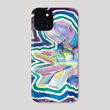 Crystal Night - Phone Case by Magdalena Fin