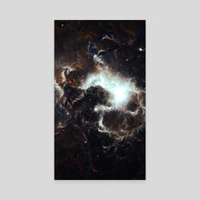 Nebula One - Canvas by Andi GreyScale