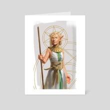 Blood Elf - Art Card by Zara Alfonso