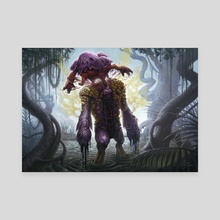 Deathbloom Thallid - Canvas by Mike Burns