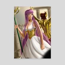 Athena - Canvas by Gagimas