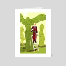 The Gardener - Art Card by Kali Ciesemier