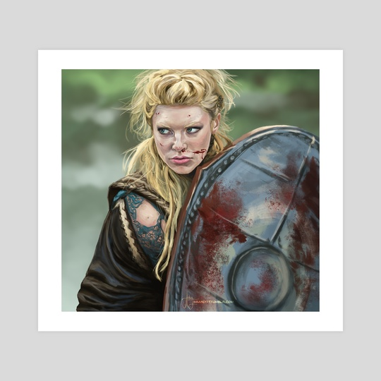 Lagertha - Vikings by Haley bbanditt Wakefield