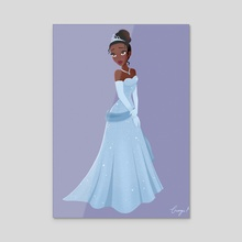 Evening Gown - Canvas by Georgie