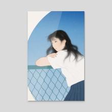 Seiran (Blue sky) - Acrylic by Sai Tamiya
