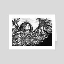 Fallen Angel - Art Card by Daniel Eichinger