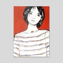 RED - Acrylic by Nancy Wang