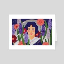 Emily Dickinson - Art Card by Sarah Young