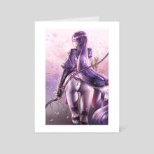 Yorimitsu - Art Card by Yinan Cui
