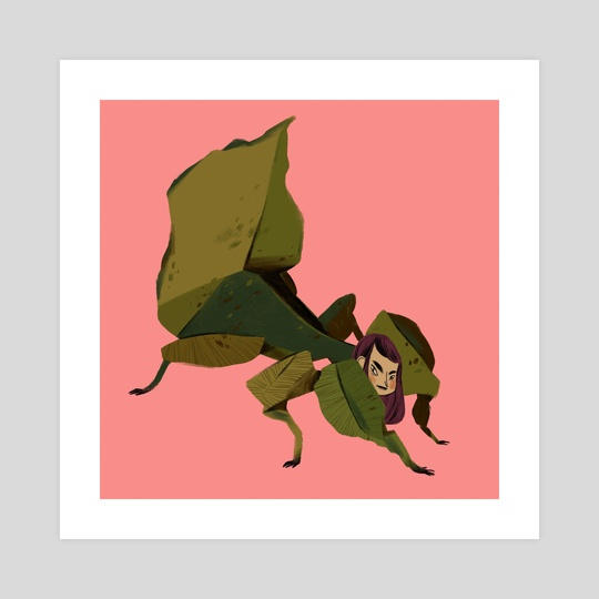 Miss Leaf by Tanja Stevanovic