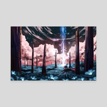 The Fallen Star - Canvas by Ark Revner