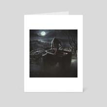 werewolf - Art Card by Petr Stovik