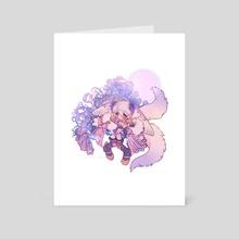 m i o h - Art Card by fiyunae
