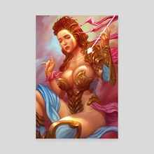 Aphrodite's Pierce - Canvas by Luka Brico