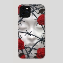 Briar Rose - Phone Case by Tristan Elwell