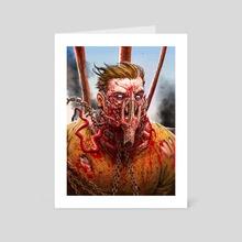 MADDER MAX - Art Card by Austen Mengler