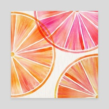 Citrus Party - Canvas by Modern Tropical