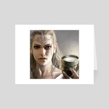 Galadriel  - Art Card by Magali Villeneuve