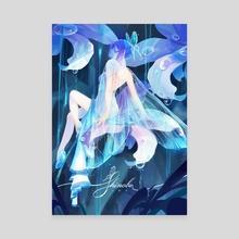Shinobu - Canvas by crylica