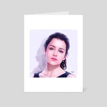 Emilia Clarke 2015 - Art Card by MARK CLARK II