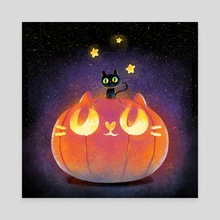 My pumpkin - Canvas by Oil Little
