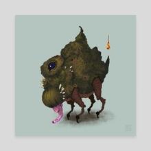 Squack! - Canvas by Vito Santoiemma