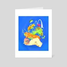 Best Fish Tacos - Art Card by Lisa Renee Wu