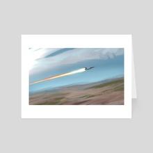 Speed - Art Card by Matthew Eng