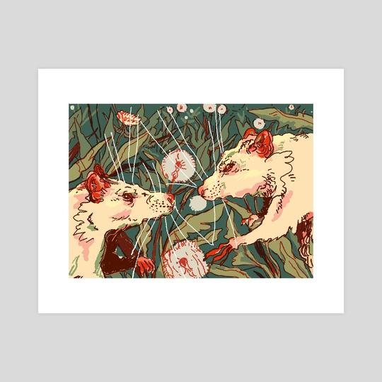 Rat God by Al Noce