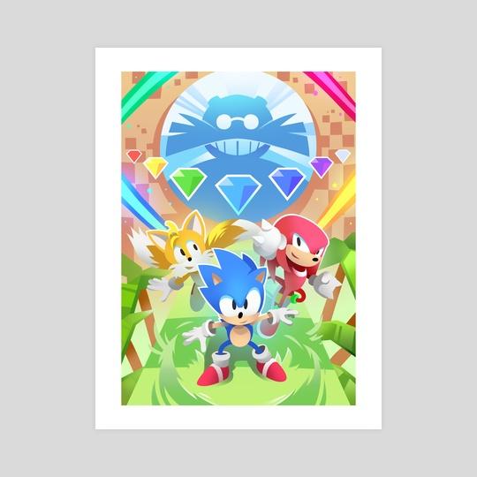 Sonic Mania!! (Sonic The Hedgehog) by Declan Luke
