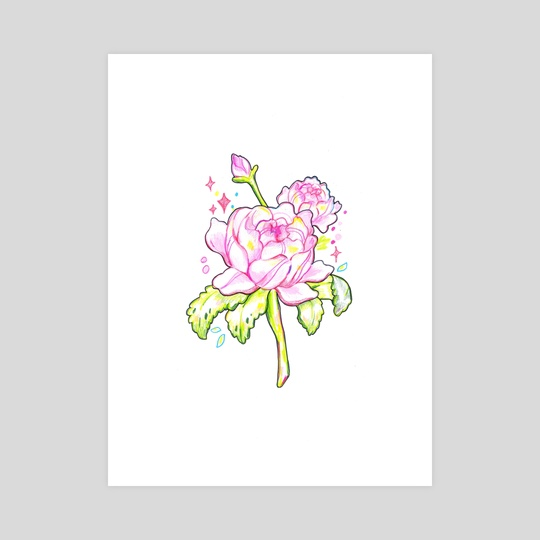 Pink Roses by Hyemin Yoo