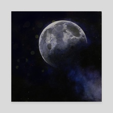 Moonlit - Canvas by Jamie Whitten